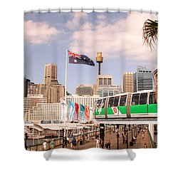 Darling Harbor Shower Curtain