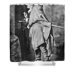 D'artagnan Shower Curtain