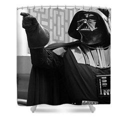 Darth Vader Shower Curtain by Ramona Johnston