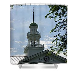 Dartmouth Hall Tower Shower Curtain