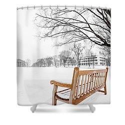Dartmouth Winter Wonderland Shower Curtain