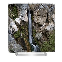 Shower Curtain featuring the photograph Darwin Falls by Joe Schofield