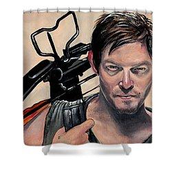 Daryl Dixon Shower Curtain