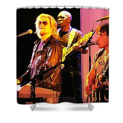 Daryl Hall And Oates In Concert Shower Curtain