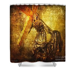 Daughters Of Jerusalem Via Dolorosa 8 Shower Curtain