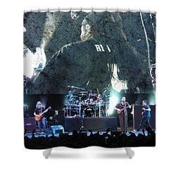 Dave Matthews Band Rocks Final Four Weekend Shower Curtain