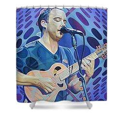 Dave Matthews Pop-op Series Shower Curtain