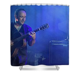 Dave's Little Smile Shower Curtain