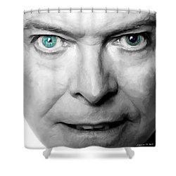 David Bowie In Clip Valentine's Day - 3 Shower Curtain