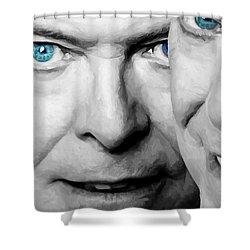 David Bowie In Clip Valentine's Day - 4 Shower Curtain