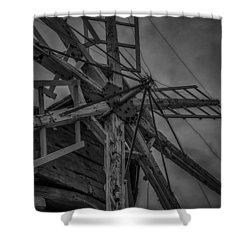 Davidson Windmill Shower Curtain by Paul Freidlund
