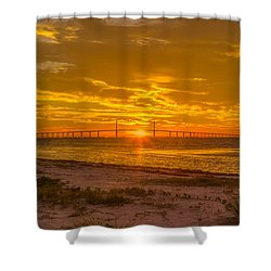 Dawn Arrives Shower Curtain