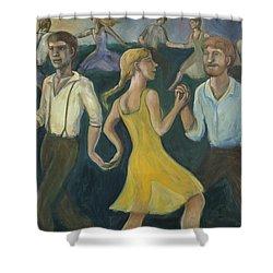 Dawn Dance Shower Curtain