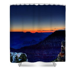 Dawn Is Breaking Shower Curtain by Dave Files