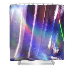 Shower Curtain featuring the photograph Dawn Of Creation by Martin Howard