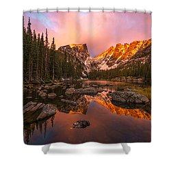 Dawn Of Dreams Shower Curtain by Dustin  LeFevre