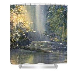 Dawn On The Derwent Shower Curtain