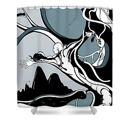 Dawning Shower Curtain