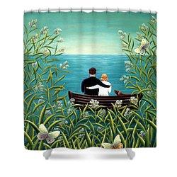 Day Dream Shower Curtain by Jerzy Marek