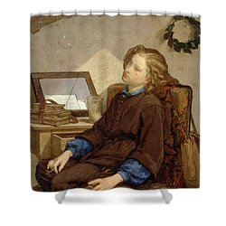 Day Dreams Shower Curtain by Thomas Couture