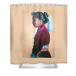 Day Of Honor Shower Curtain