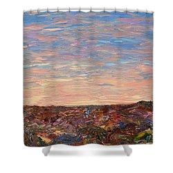 Daybreak Shower Curtain by James W Johnson