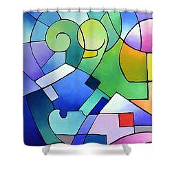 Daydream Canvas One Shower Curtain
