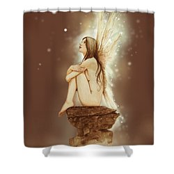 Daydreaming Faerie Shower Curtain