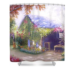 Daylesford Cottage Shower Curtain