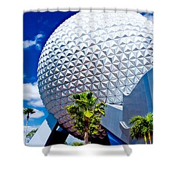 Daylight Dome Shower Curtain