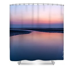 Days End Shower Curtain by Adrian Evans