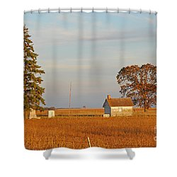 Days End Shower Curtain by Mary Carol Story