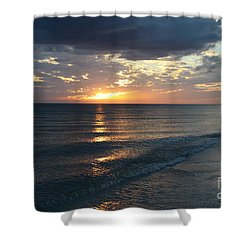 Days End Over Sanibel Island Shower Curtain