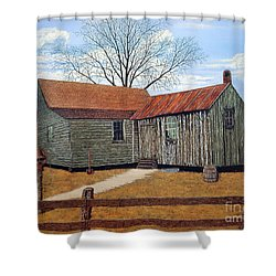 Days Gone By Shower Curtain by Jeff McJunkin