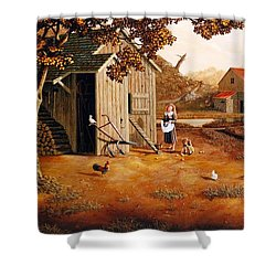 Days Of Discovery Shower Curtain