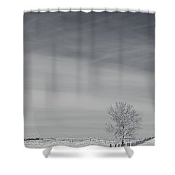 Days Turn Into Months Shower Curtain