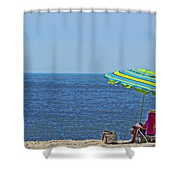 Daytime Relaxation Shower Curtain