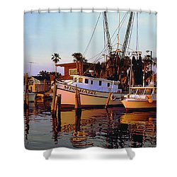 Daytona Sonny Boy And Miss Hazel Shower Curtain