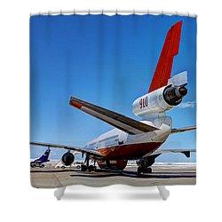 Dc-10 Air Tanker  Shower Curtain