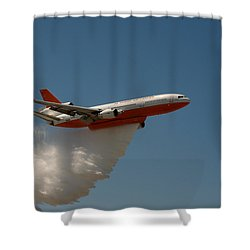 Dc 10 Air Tanker Shower Curtain