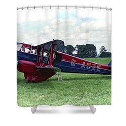 De Havilland Dragon Rapide Shower Curtain