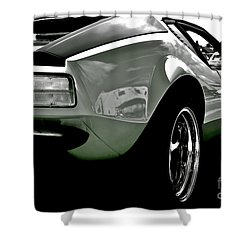 De Tomaso Pantera  1973 Shower Curtain