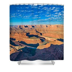 Shower Curtain featuring the photograph Dead Horse Point by Juergen Klust