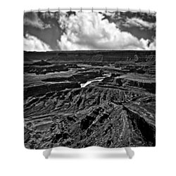 Dead Horse Point Utah Shower Curtain by Bob and Nadine Johnston