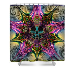 Dead Star Shower Curtain