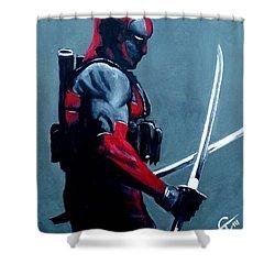 Deadpool Shower Curtain