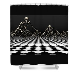 Death Approaches Shower Curtain