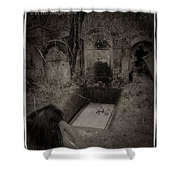 Death Becomes Her Shower Curtain