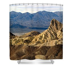 Death Valley Np Zabriskie Point 11 Shower Curtain