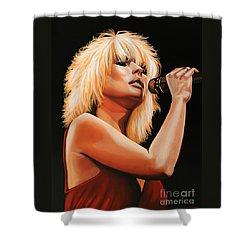 Deborah Harry Or Blondie 2 Shower Curtain